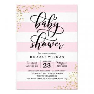 Custom Baby Shower Invitations