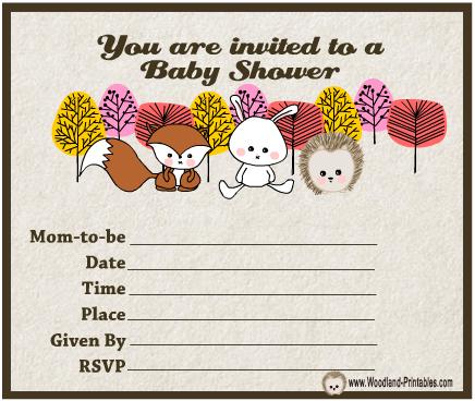 Cute Baby Shower Invitations