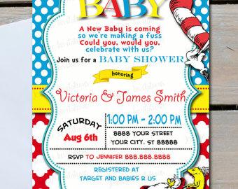 Dr Seuss Baby Shower Invitations Bathroom Design Ideas Gallery