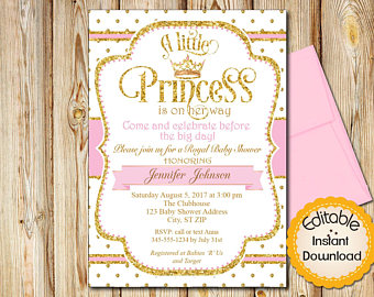 By Http Info A5 1647a Plain Decoration Etsy Baby Shower Invitations Gorgeous Design Perfect Pleasant