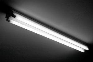 Fluorescent Bathroom Lighting