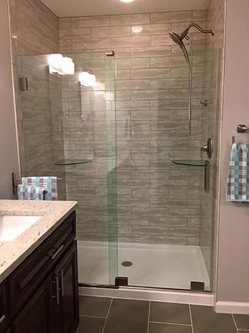 Frameless Shower Door Home Sweet Home Modern Livingroom