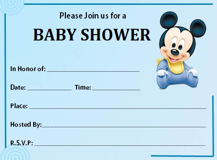 Free Printable Baby Shower Invitations For Boys Bathroom Design