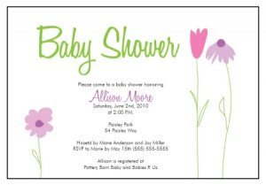 Free Printable Baby Shower Invitations Templates