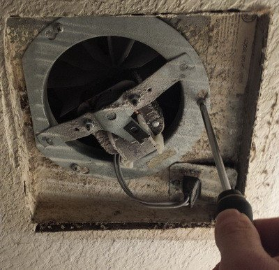 Fresh Bathroom Exhaust Fan Replacement Parts Layout
