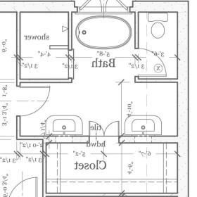 fresh master bedroom bathroom floor plans ideas - home