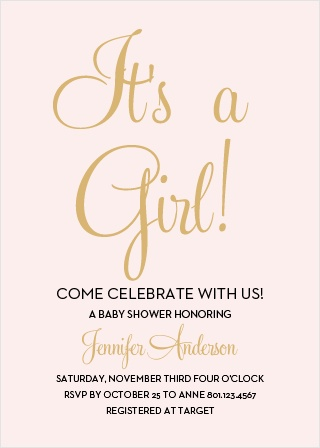 Girl Baby Shower Invitations Bathroom Design Ideas Gallery Image