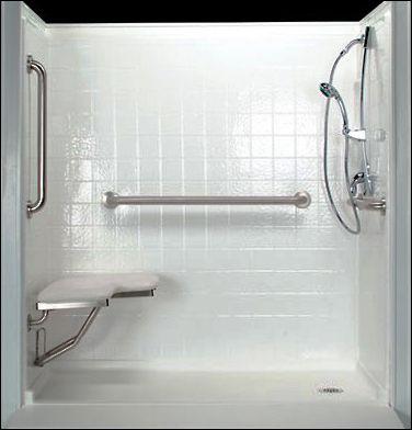 handicap shower stalls bathroom design ideas gallery image and rh bridgeportbenedumfestival com