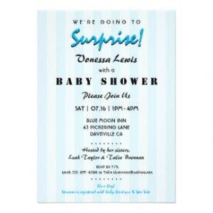 Inexpensive Baby Shower Invitations
