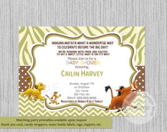 Lion King Baby Shower Invitations Bathroom Design Ideas Gallery
