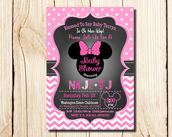 Minnie mouse baby shower invitations bathroom design ideas gallery by httpphotonfxwp contentuploads201712cheap minnie mouse baby shower invitations new baby shower decorations for girls of cheap minnie mouse filmwisefo