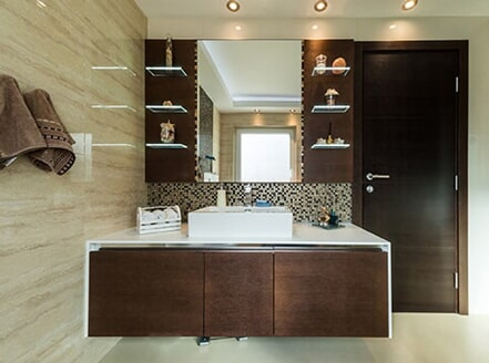 Modern Bathroom Remodel Richmond Va Portrait - Home Sweet ...