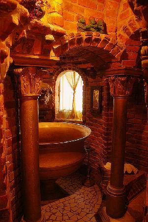 Old World Bathroom Lighting