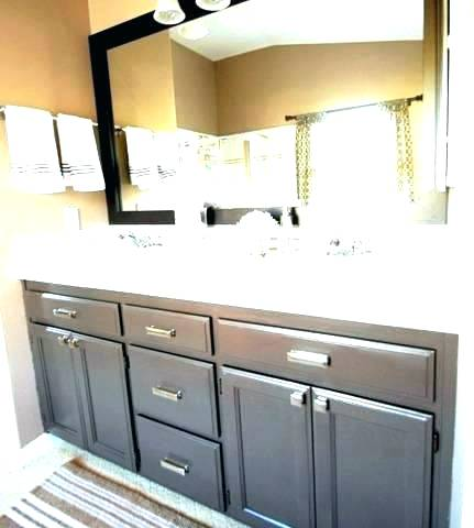 painting bathroom cabinets - home sweet home   modern