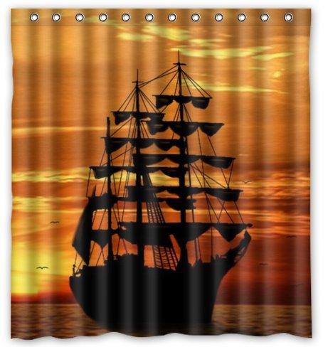 Pirate Shower Curtain