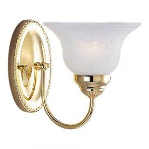 Polished Brass Bathroom Lighting
