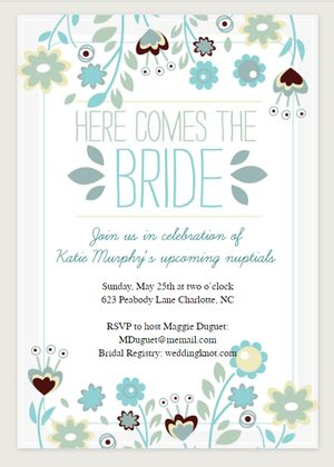Printable Bridal Shower Invitations Bathroom Design Ideas Gallery