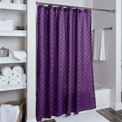 97 Violet Shower Curtain