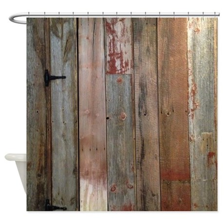 Rustic Shower Curtains