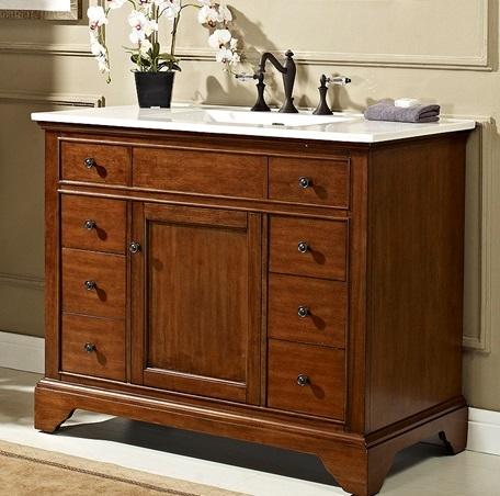 Stylish 42 Inch Bathroom Vanity Plan - Home Sweet Home ...