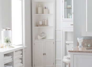 Tall Bathroom Cabinets Bathroom Design Ideas Gallery Image And