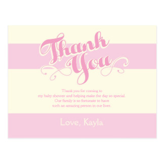 Thank You Cards Baby Shower