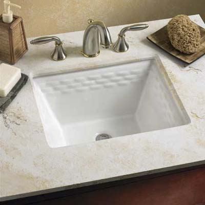 Top Undermount Bathroom Sink Pattern