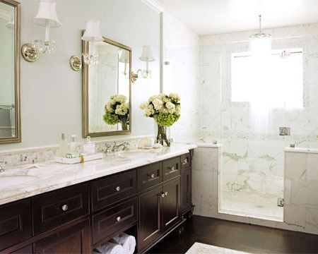 Transitional Bathroom Lighting