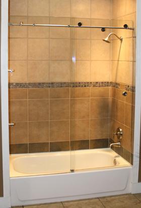 tub shower doors - home sweet home   modern livingroom