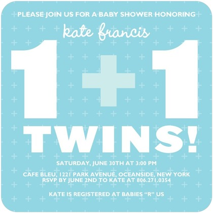 Baby Shower Ideas For Twins Free twins baby shower invitations - bathroom design ideas gallery image