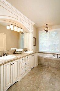 White Bathroom Cabinets