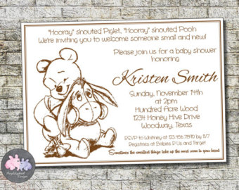 Winnie the pooh baby shower invitations bathroom design ideas winnie the pooh baby shower invitations filmwisefo