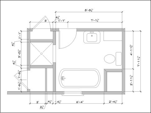 Designing Bathroom Layout