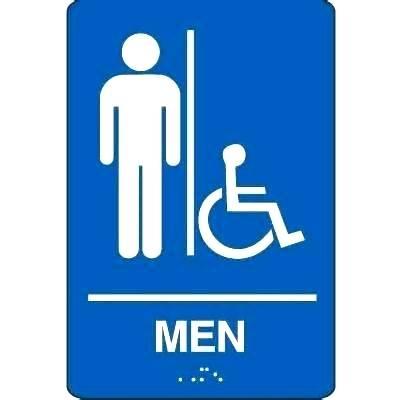 Female Bathroom Signs