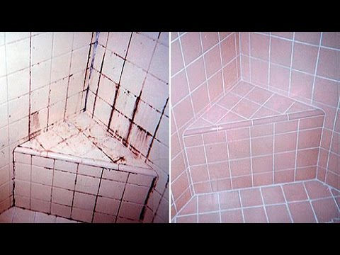 How To Clean The Bathroom Tiles