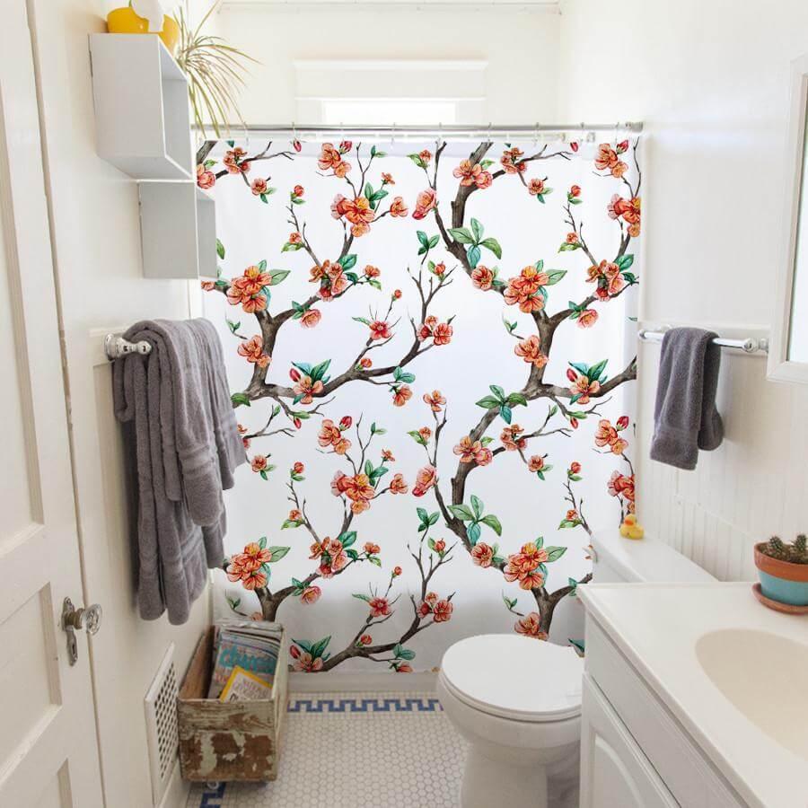 Cheery Cherry bathroom
