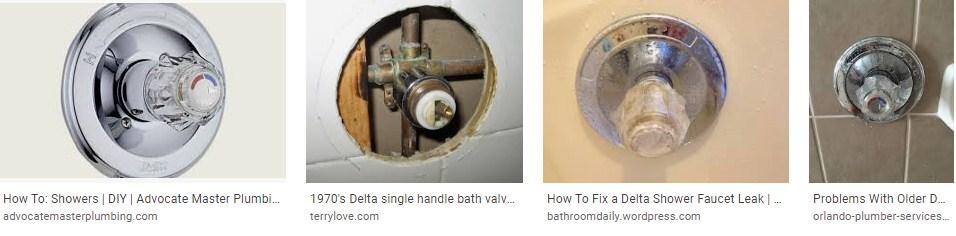 Fixing A Delta Shower Faucet