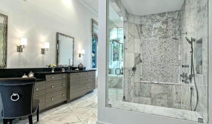 Marvelous Marble bathroom