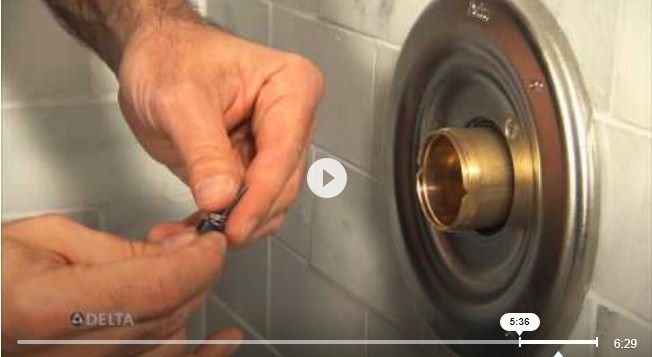 How do you replace a Delta Monitor shower faucet cartridge (youtube.com)