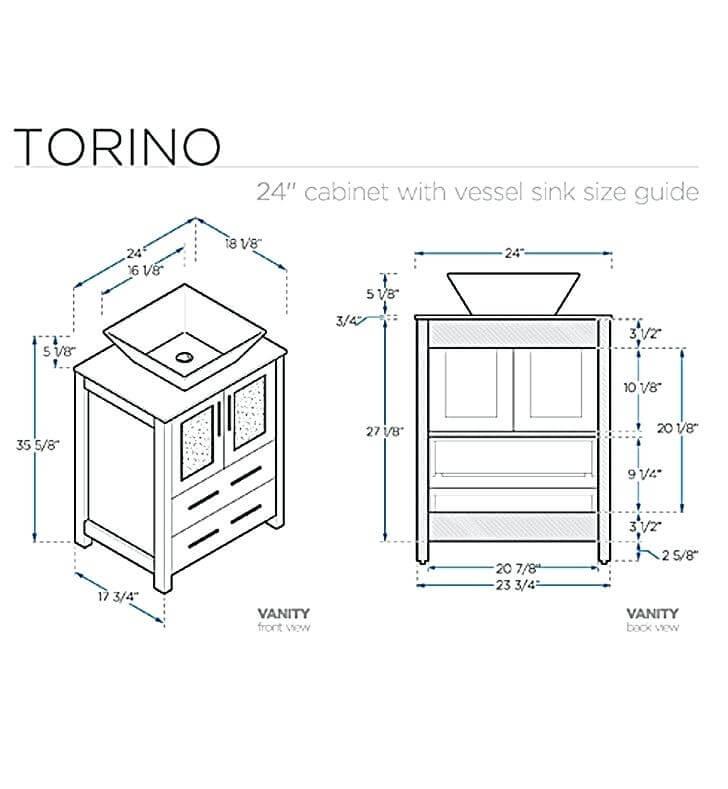 Typical Bathroom Vanity Dimensions