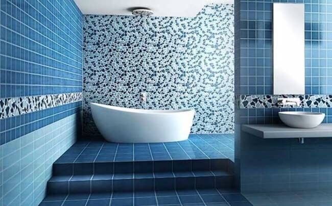 Bathroom Color Blue