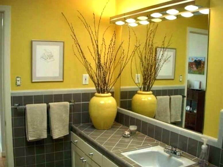 Bathroom Color Yellow