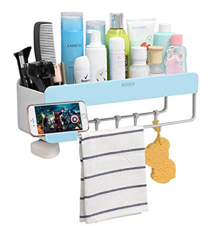 Bathroom to store a variety of shampoo, soap and other equipment