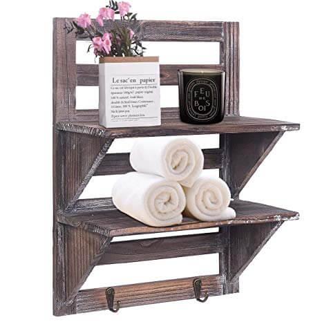 Make wood as capital to make shelves