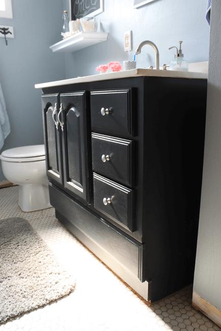 Rustic bathroom sink cabinets