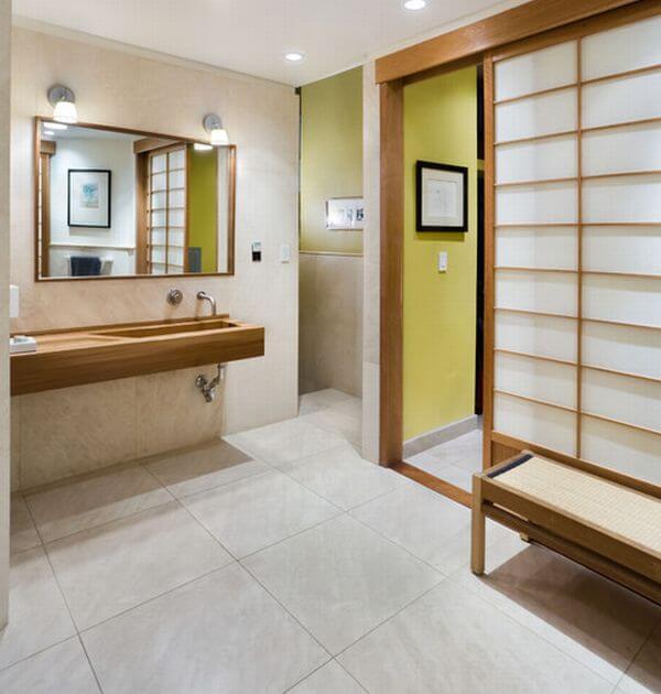 Superb Japanese Bathroom Decor Plan