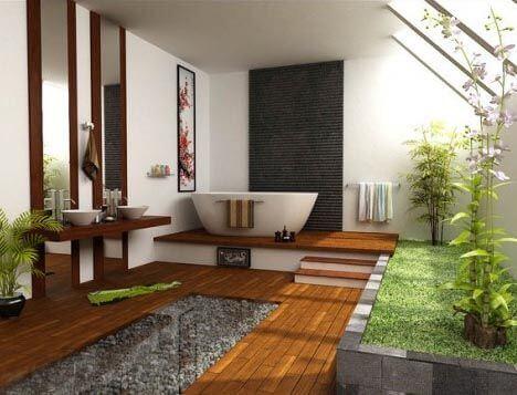 Stunning Japanese Bathroom Decor Inspiration
