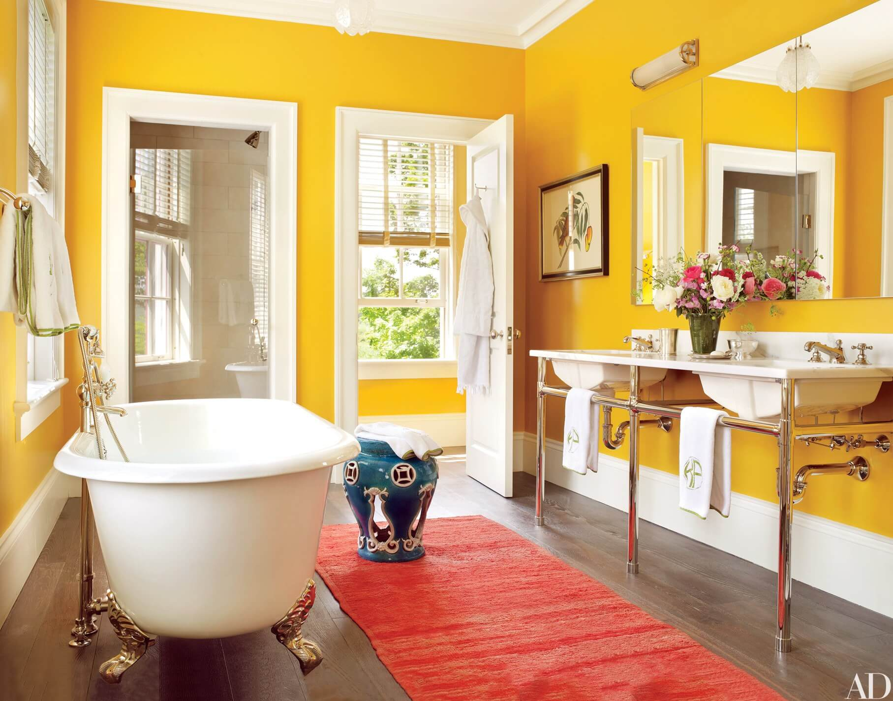 Yellow For The Bathroom