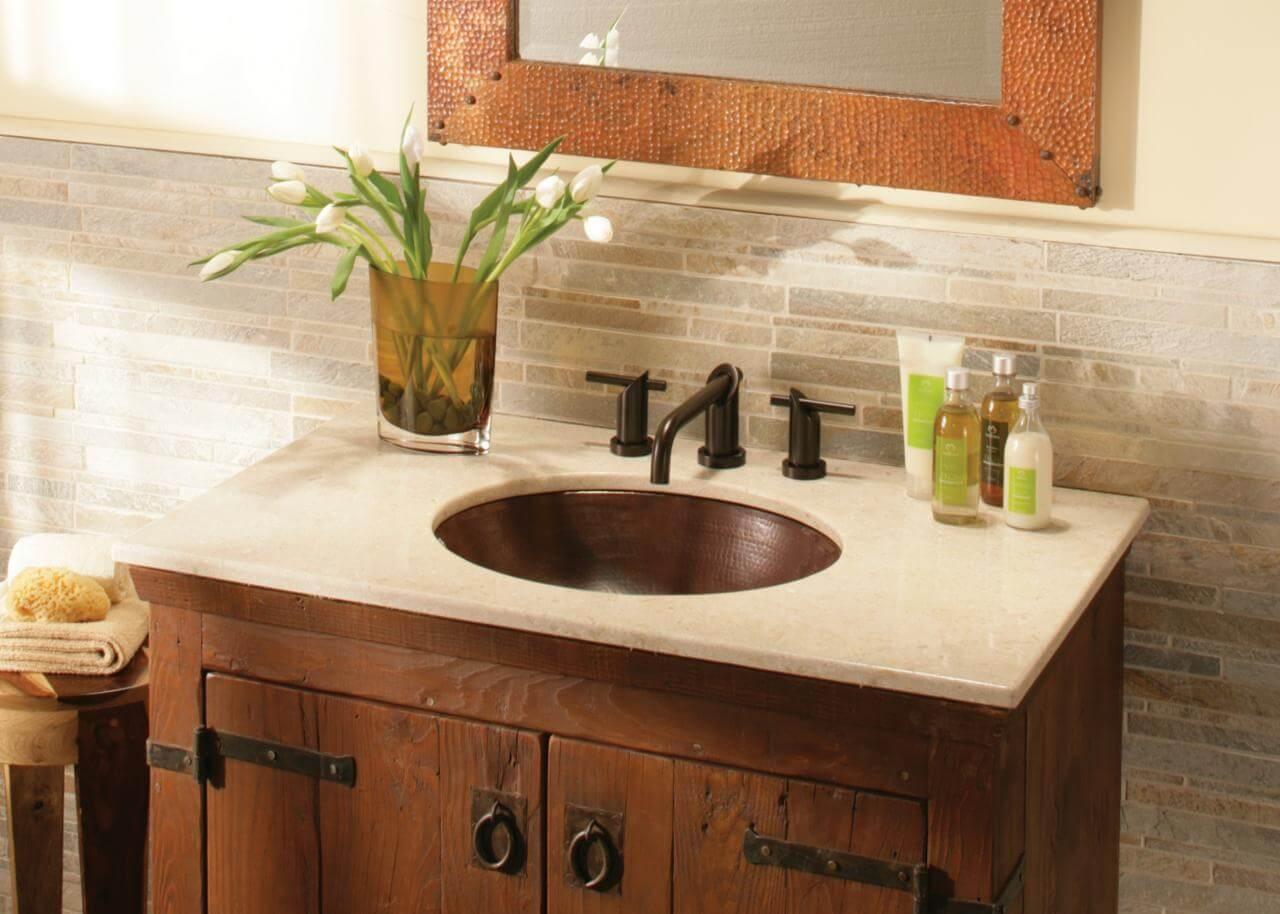 Vanity Bathroom Vintage