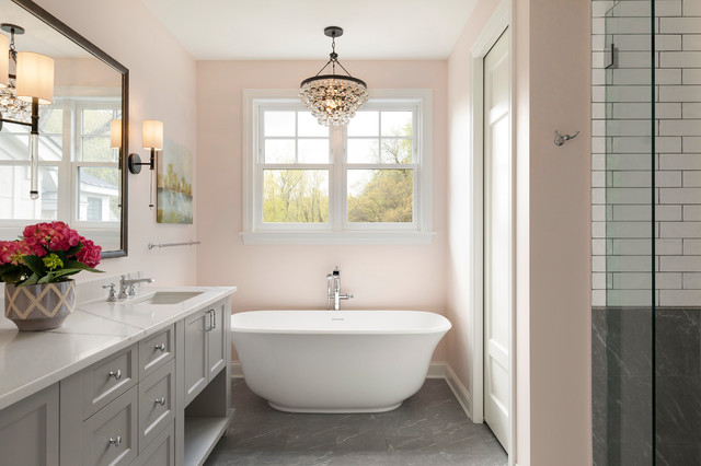 Why Would You Want To Tackle A Bathroom Remodel (Houzz)